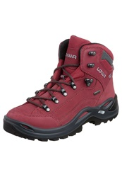 Lowa Renegade Gtx Mid Walking Boots Red