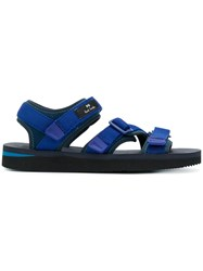 Paul Smith Ps By Strap Front Sandals Blue