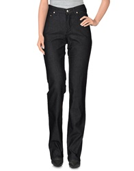 Trussardi Jeans Denim Pants Black