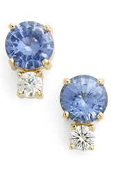 Jemma Wynne Women's Sapphire And Diamond Stud Earrings