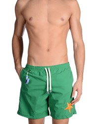 Macchia J Swimwear Swimming Trunks Men Green