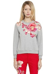 Ainea Hand Embroidered Cotton Sweatshirt