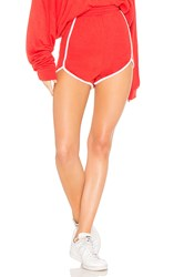Wildfox Couture Solid Short Red