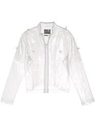 Walter Van Beirendonck Vintage Inflatable Muscle Jacket White
