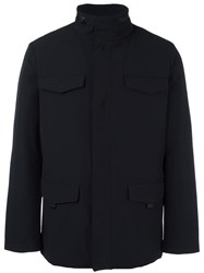 Armani Collezioni Patch Pocket Jacket Black