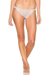 Only Hearts Club So Fine Lace Thong Beige