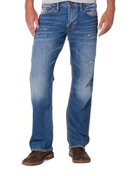 Silver Jeans Zac Relaxed Fit Jeans Blue