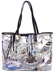 Mary Katrantzou 'Melina' Shopper Tote Multicolour