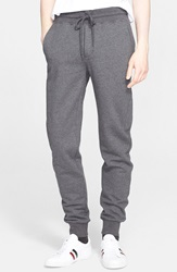 Moncler French Terry Track Pants Charcoal Grey