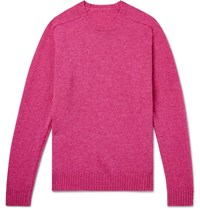 Anderson And Sheppard Shetland Wool Sweater Pink