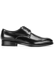 Canali 'Classic Exclusive' Derby Shoes Black