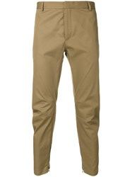 Lanvin Ruched Chinos Nude And Neutrals