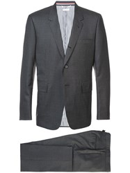 Thom Browne Classic Two Piece Suit Grey