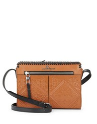 Nanette Lepore Highland Park Leather Crossbody Tan