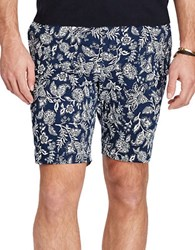 Polo Ralph Lauren Stretch Classic Fit Floral Chino Shorts Blue Antique