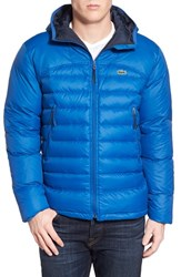 Men's Lacoste Packable Lightweight Down Jacket Electric Blue