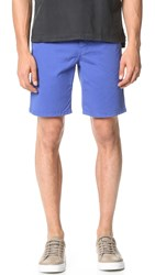 Norse Projects Aros Light Twill Shorts Cornflower Blue