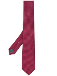 Canali Silk Tie Red