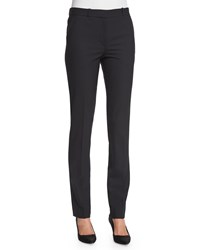 The Row New Franklin Skinny Pants Black