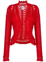 Chanel Vintage Embroidered Fitted Cardigan