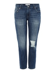 Dl1961 Davis Skinny Boyfriend Fit Jean In Hollar Denim Dark Wash