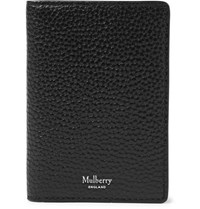 Mulberry Full Grain Leather Billfold Cardholder Black