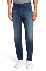 Ag Jeans Men's Graduate Slim Straight Fit 10 Years Shortcut