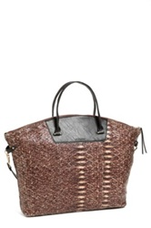 Kelsi Dagger 'Fischer' Dome Tote Brown
