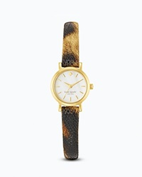 Kate Spade New York Animal Print Tiny Metro Watch 20Mm
