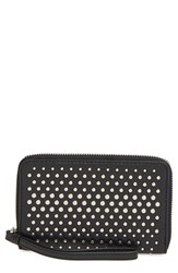 Women's Marc By Marc Jacobs 'New Q Degrade Wingman' Studded Phone Wristlet
