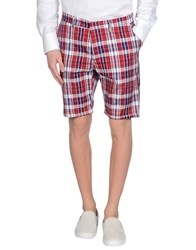 The Editor Trousers Bermuda Shorts Men Red