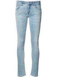 Citizens Of Humanity Skinny Cropped Jeans Blue