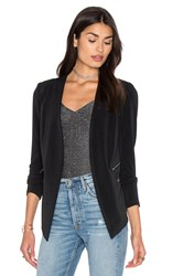 Bcbgeneration Open Front Jacket Black