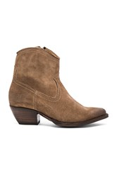 Frye Sacha Short Boot Brown