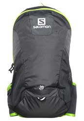 Salomon Trail 20 Backpack Galet Grey Granny Green