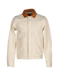 Levi's Made And Craftedtm Denim Denim Outerwear Men Ivory