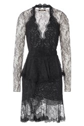 Roberto Cavalli Lace Dress Black