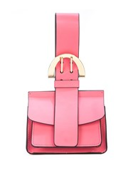Zac Posen Biba Buckled Mini Bag Pink
