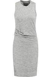 By Malene Birger Niamo Linen Jersey Dress Gray
