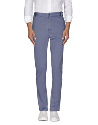 Daniele Alessandrini Trousers Casual Trousers Men Pastel Blue
