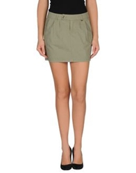 Gas Jeans Gas Mini Skirts Military Green