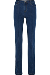 Alice Olivia Mid Rise Flared Jeans