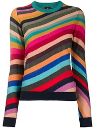Paul Smith Ps Striped Slim Fit Jumper 60