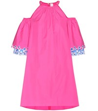 Peter Pilotto Cotton Mini Dress Pink