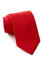 English Laundry Solid Silk Tie Red