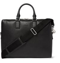 Gucci Grained Leather Briefcase Black