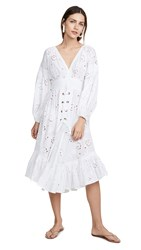 Misa Los Angeles Althea Cover Up Dress White