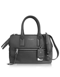 Marc Jacobs Recruit East West Shadow Leather Tote Gray