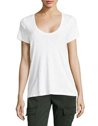 Tommy Bahama Ashby Cotton Tee White