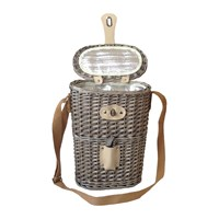 Amara 2 Bottle Chilled Carry Basket